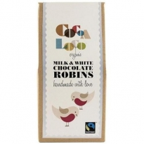 Cocoa Milk & White Chocolate Robins 110g