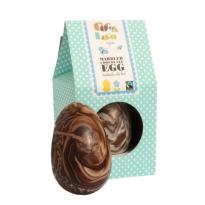 Cocoa Loco Marbled Chocolate Egg 225g
