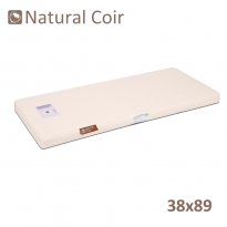 Natural Coir Standard Crib Mattress 38x89cm