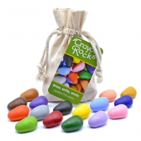Crayon Rocks Bag of 16