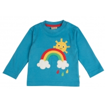 Frugi Rainbow Discovery Top