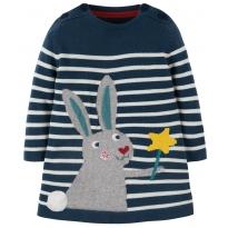 Frugi Rabbit Keira Knitted Dress