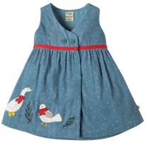 Frugi Goose Peony Party Dress