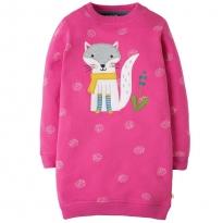 Frugi Fox Eloise Jumper Dress
