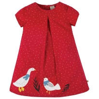 Frugi Goose Holly Cord Dress