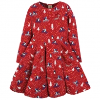 Frugi Penguin Play Sofia Skater Dress