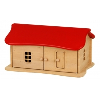Drewart Small Red Roof House
