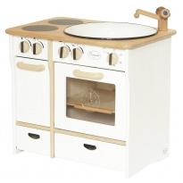 Drewart White Cooker & Sink