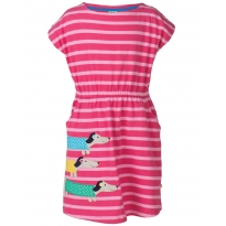 Frugi Dog Bryher Boat Neck Dress