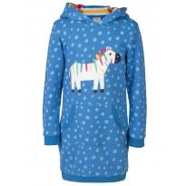 Frugi Zebra Harriet Hoody Dress