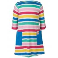 Frugi Candy Stripe Tunic Dress