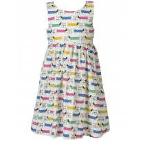 Frugi Dotty Dogs Porthcurno Party Dress