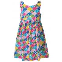 Frugi Rainbow Porthcurno Party Dress