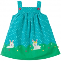 Frugi Hopping Along Pinafore Dress
