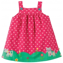 Frugi Summer Stroll Pinafore Dress