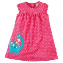 Frugi Dino Little Lola Dress