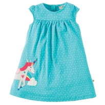 Frugi Unicorn Little Lola Dress