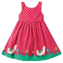 Frugi Alpaca Blooms Party Dress