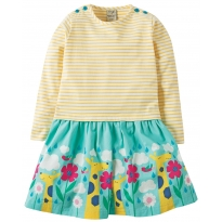 Frugi In The Clouds Twirly Dress