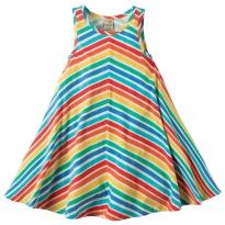 Frugi Rainbow Twirly Beach Dress