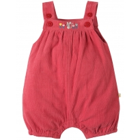 My First Frugi Vintage Rose Cord Dungarees