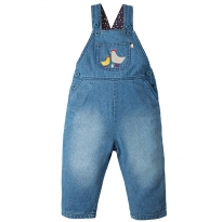Frugi Chickens Hopscotch Dungarees