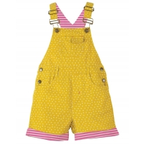 Frugi Spot Caitlin Cord Dungarees