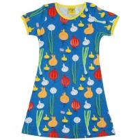 DUNS Adult Blue Garlic, Chives & Onion SS Dress