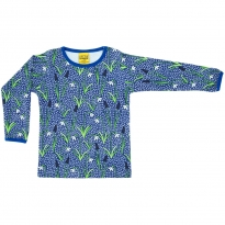 DUNS Adult Blue Snowdrop LS Top