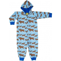 DUNS Blue Moose Lined Hooded Suit