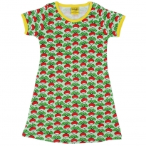DUNS Green Radish SS Dress