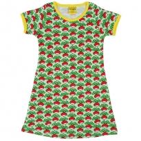 DUNS Adult Green Radish SS Dress