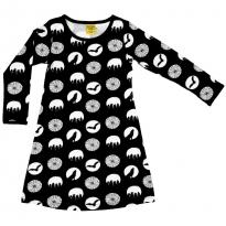 DUNS Halloween Black LS Dress