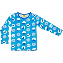 DUNS Halloween Blue LS Top