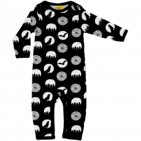 DUNS Halloween Black Lap Neck LS Suit