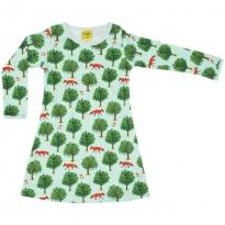 DUNS Jade Fox & Tree LS Dress