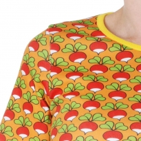 DUNS Adult Orange Yellow Radish LS Top