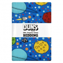 DUNS Blue Lost In Space Single Bedding Set