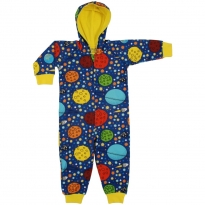 DUNS Navy Lost In Space Lined Hooded Suit
