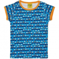 DUNS Blue Sailing Boat SS Top