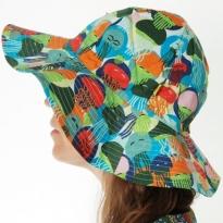 DUNS Jellyfish Blue & Green Sun Hat