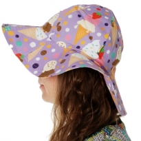 DUNS Ice Cream Lavender Sun Hat