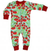 DUNS Turquoise Growing Tomatoes LS Zip Suit