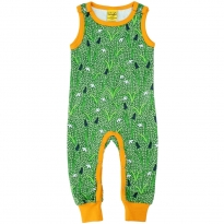 DUNS Green Snowdrop Zip Suit