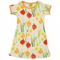 DUNS Adult Pale Green Garlic, Chives & Onion SS Dress