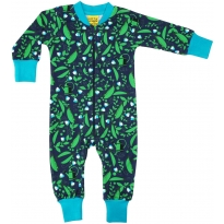 DUNS Blue Pea Zip Suit