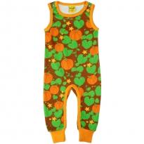 DUNS Pumpkin Dungarees - Brown