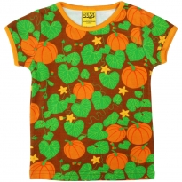 DUNS Short Sleeve Pumpkin Top - Brown