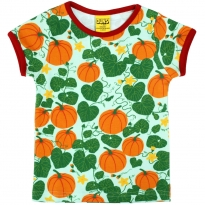 DUNS Short Sleeve Pumpkin Top - Jade