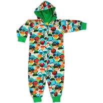 DUNS Jellyfish Blue & Green Lined Hooded Suit